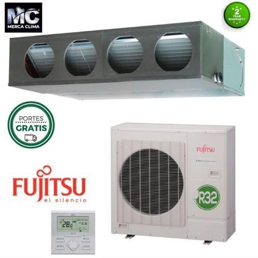 Aire Acondicionado conductos Fujitsu ACY125 K-KA ECO R32