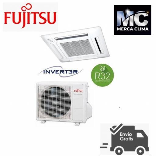 Fujitsu AUY50K-KA Aire acondicionado Cassette R-32