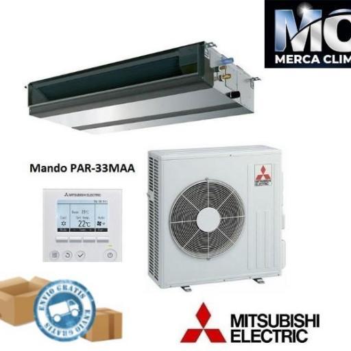 Conductos Mitsubishi Electric MGPEZ-100 VJA PRO R32 WIFI INCLUIDO