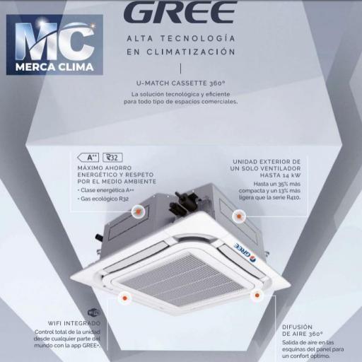 AIRE CASSETTE GREE UM CST 30 R32 WIFI [1]