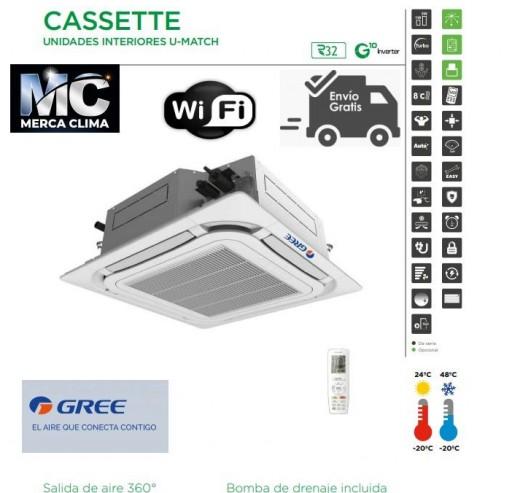 AIRE CASSETTE GREE UM CST 48 R32 WIFI