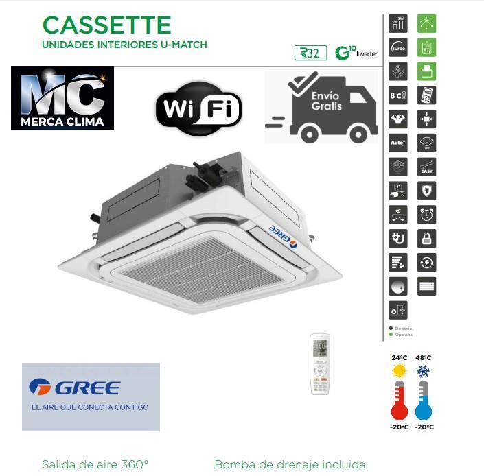 AIRE CASSETTE GREE UM CST 30 R32 WIFI
