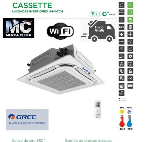 AIRE CASSETTE GREE UM CST 24 R32 WIFI