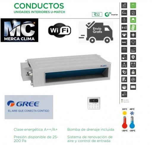 AIRE CONDUCTOS GREE UM CDT 36 R32 WIFI