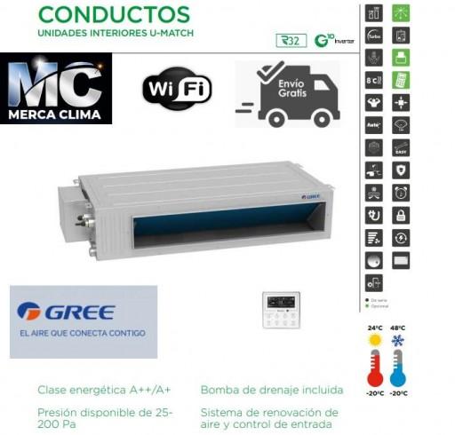 AIRE CONDUCTOS GREE UM CDT 24 R32 WIFI