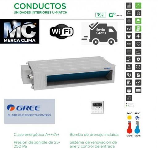 AIRE CONDUCTOS GREE UM CDT 18 R32