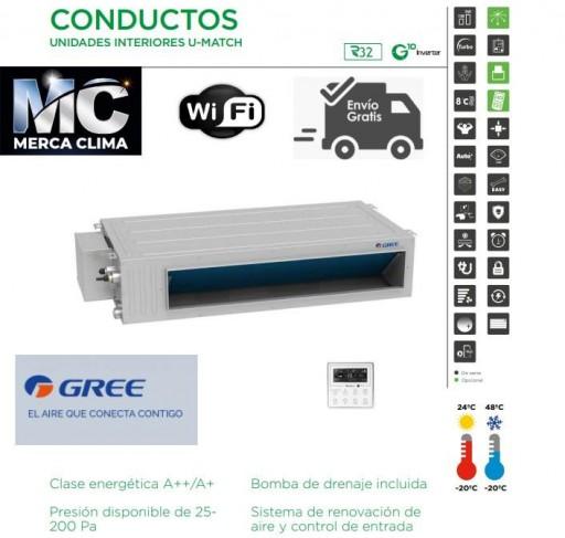 AIRE CONDUCTOS GREE UM CDT 42 3F R32