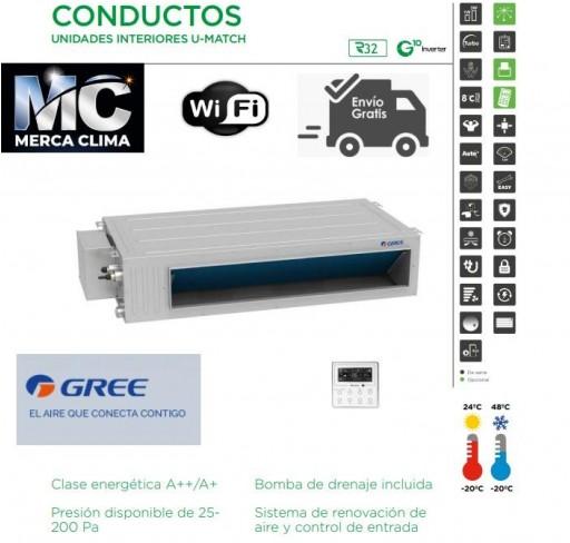 AIRE CONDUCTOS GREE UM CDT 36 3F R32 TRIFASICO WIFI  [0]