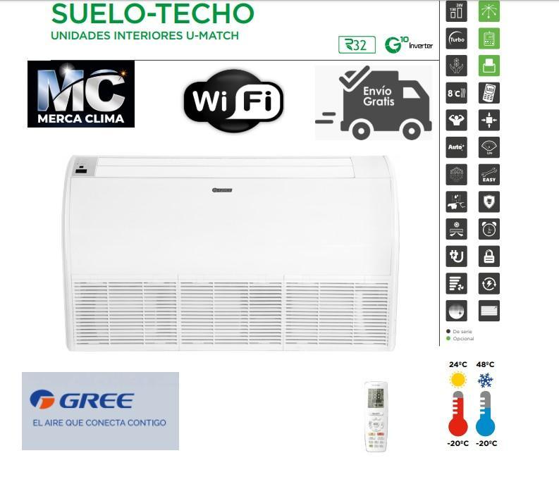 Aire Suelo Techo GREE UM ST 30 R32 WIFI
