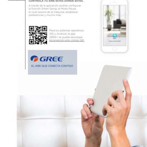 Aire GREE Consola 18 R32 wifi [2]