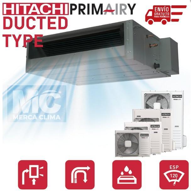 Aire Acondicionado Conductos Hitachi RPIM-4.0 r32