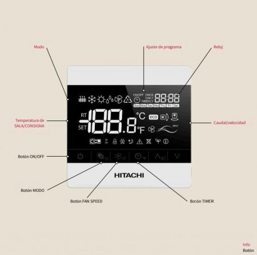 Aire Acondicionado Conductos Hitachi RPIM-4.0 r32 [2]