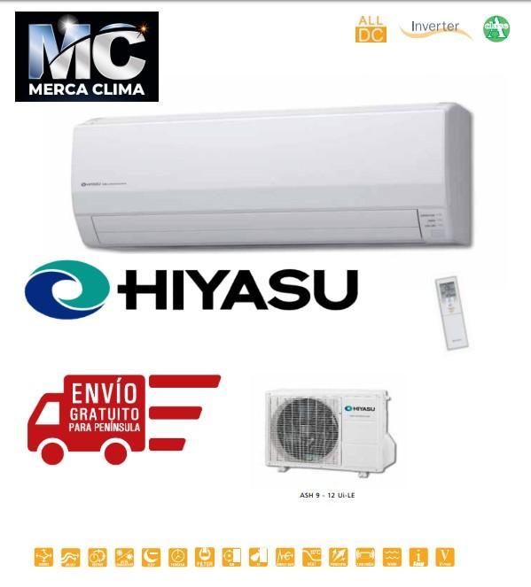 AIRE SPLIT HIYASU ASH 9 Ui-LE 2200/2500