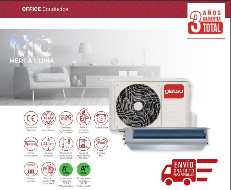 Giatsu  Aire Conductos GIA-D-18IX43R32 wifi