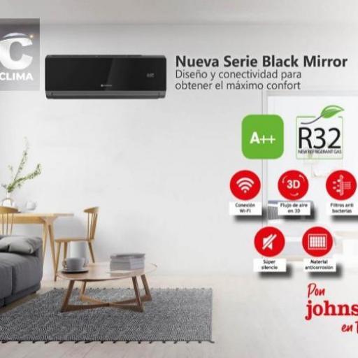 Johnson JN25 Black Mirror Aire acondicionado 1x1 [2]