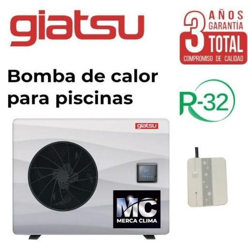 Bomba Calor Piscina Lion GIA-SWP-0-070LIO WIFI