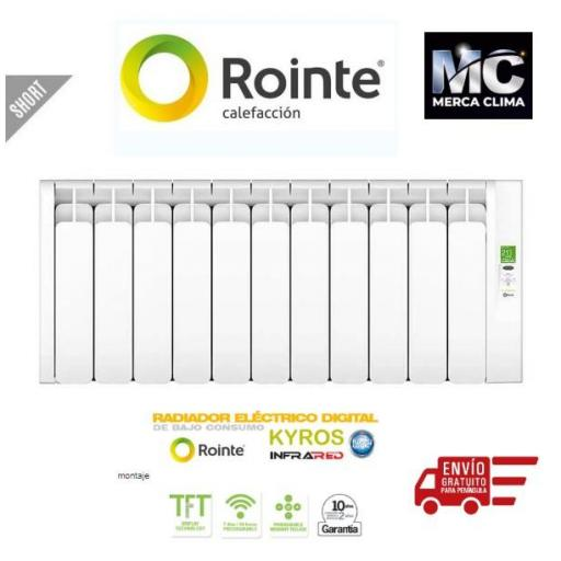 ROINTE KYROS SHORT 1100 W - 11 Elementos
