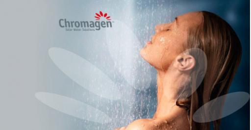 Sistema solar de termosifón Chromagen TSA 300 PRO+RESISTENCIA+TERMOSTATO [2]