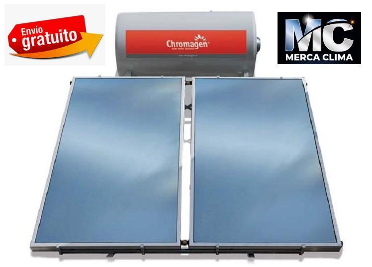 Sistema solar de termosifón Chromagen TSA 300 PRO+RESISTENCIA+TERMOSTATO
