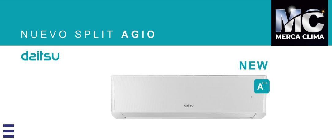 Aire Acondicionado Split Daitsu AGIO ASD 12K-DG WiFi