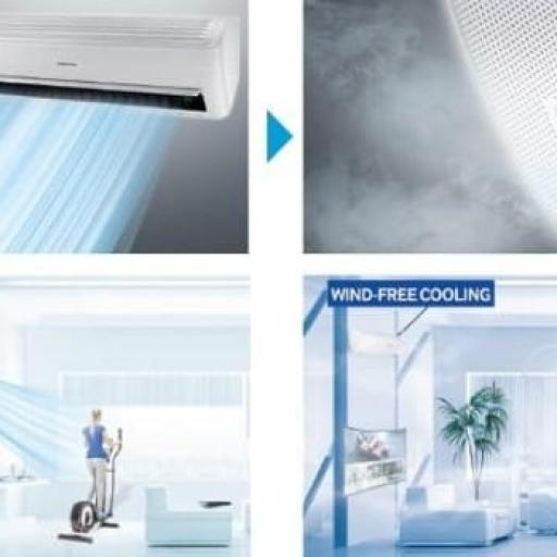 Aire Acondicionado Samsung F-WINDFREE09R R32 Light [2]