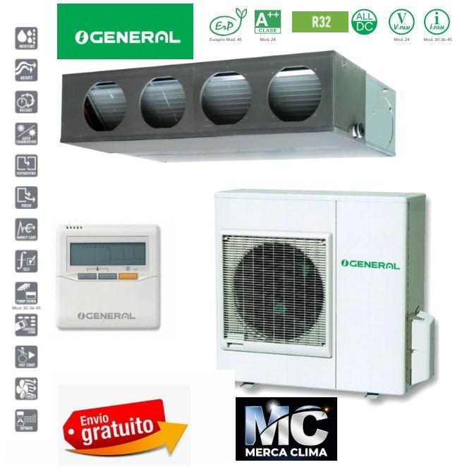 General Conductos ACG 36 K-KM R32