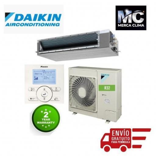 Daikin Aire Conductos ADEAS125A R32 [0]