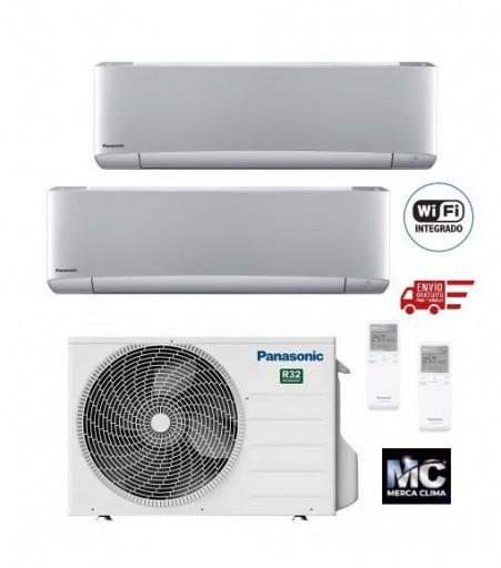 Panasonic KIT-2XZ2535-VKE Etherea 2x1 Plateado