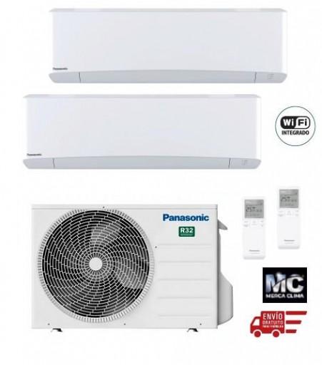 Panasonic KIT-2Z2535-VKE Etherea 2x1 Blanco mate