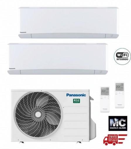 Panasonic KIT-2Z2035-VKE Etherea 2x1 Blanco mate