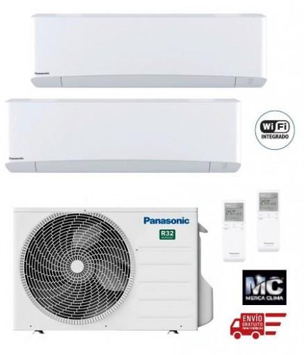 Panasonic KIT-2Z2525-VKE Etherea 2x1 Blanco mate