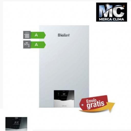 Caldera Vaillant ecoTEC plus Smart VMW 32 CS/1-5+plantilla+sensohome