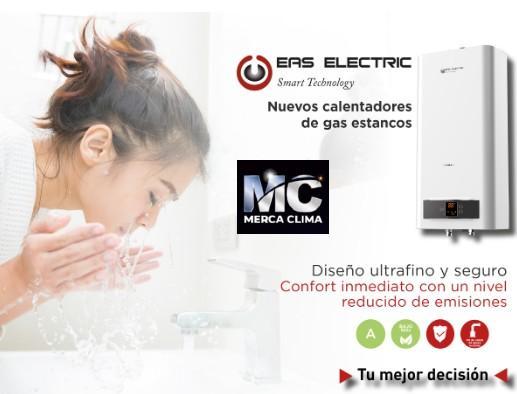 Nuevos Calentadores Estancos Eas Electric
