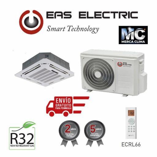 Aire acondicionado tipo Cassette Marca EAS Electric ECM105VK
