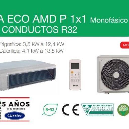 Aire conducto RIELLO AARIA ECO AMD 80P