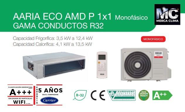 Aire conducto RIELLO AARIA ECO AMD 100P