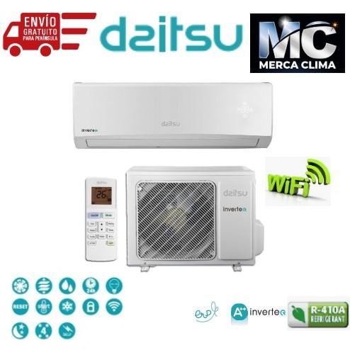 Lote 5 Split Daitsu ASD09UI-DN R-410 wifi