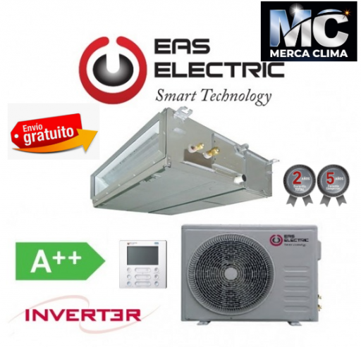 Eas Electric EDM 105 VRK WIFI incluido