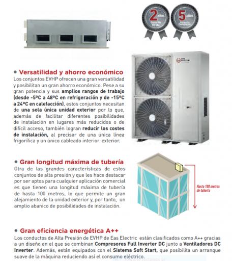EAS EVHP40 tipo Conducto de Alta Capacidad  [1]