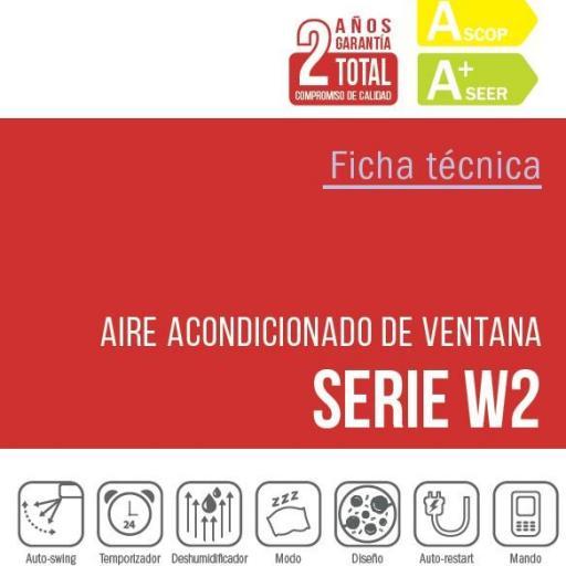 Aire Ventana Giatsu GIA-WBC-12-W2 Frio/Calor  [1]