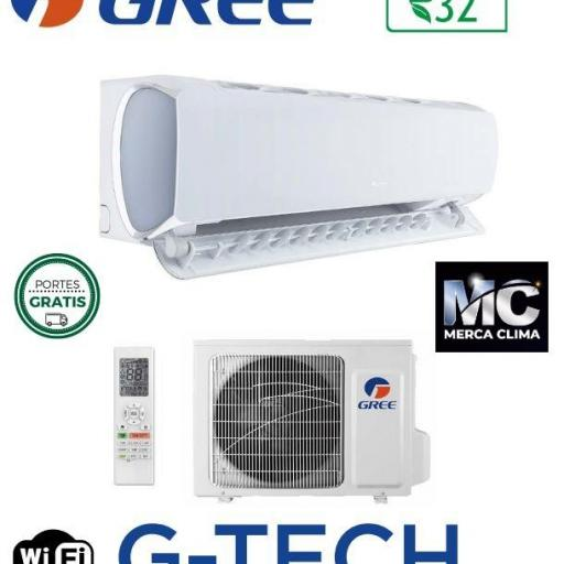 Gree G-Tech 9 wifi aire split