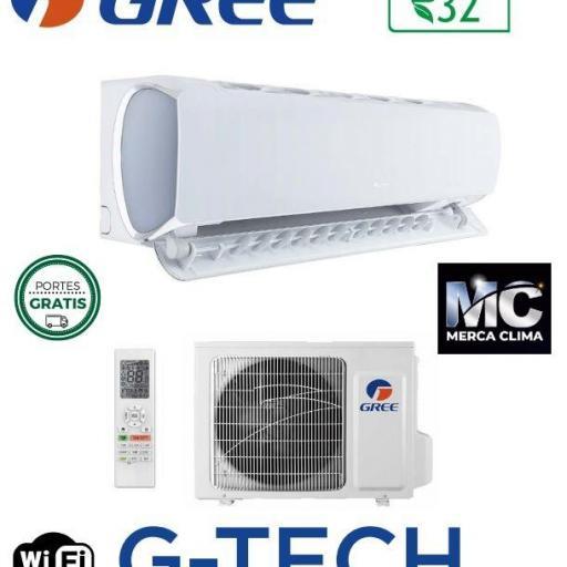 Gree G-Tech 12 wifi aire split