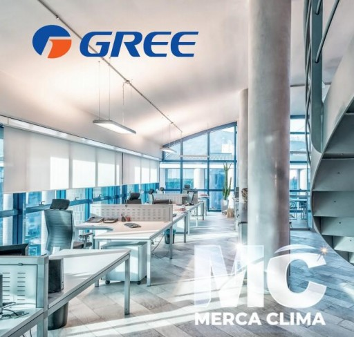 AIRE CONDUCTOS GREE UM CDT 36 3F R32 TRIFASICO WIFI  [1]