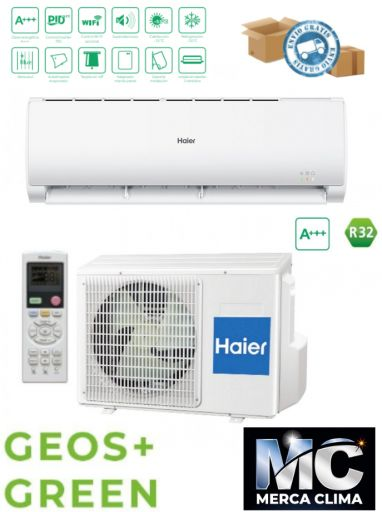 Split Haier GEOS+ GREEN 25 R32 wifi