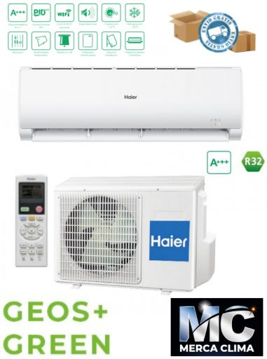 Split Haier GEOS+ GREEN 68 R32 wifi incluido