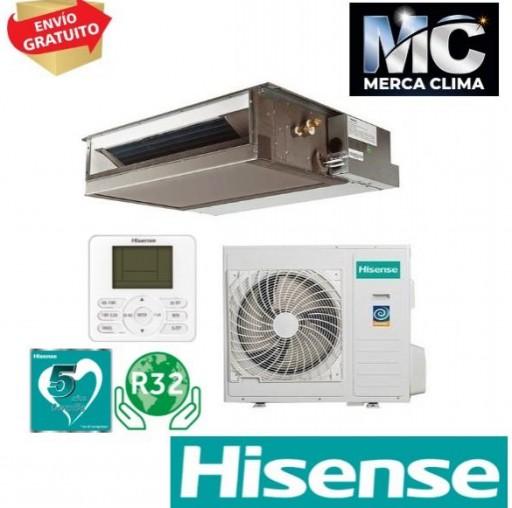 Hisense AUD71UX4RFCL4  Aire Acondicionado Conductos [2]