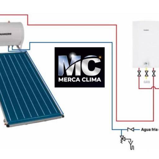 Sistema solar termosifón Junkers SMART F1/TSS 150/FCC-2 [1]
