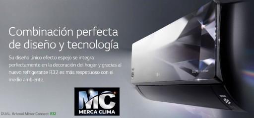 Artcool Mirror Wifi R32 AC09BQ.SSJ split aire [1]