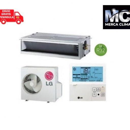 LG CM18F + UUA1 Aire Acondicionado Conductos