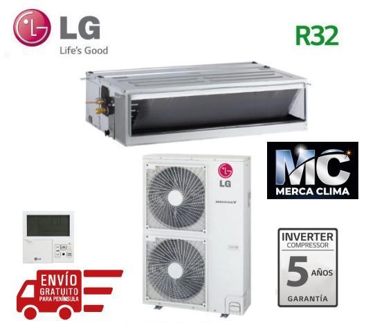 LG UM42R + UU42WR Aire Acondicionado Conductos
